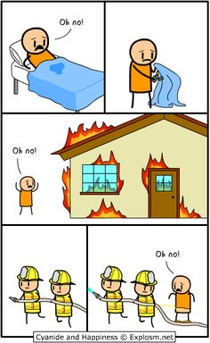 Cyanide and Happiness - Oh No!