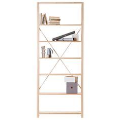 A lacquered open shelf by a Finnish company Lundia is a classic and cherished furniture that has been working since as early as 1948. The possibilities are endless: use it as a bookshelf or place it in the nursery or kitchen – you decide!