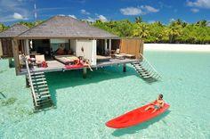 Maldives,Paradise island,Water Villa - Paradise Island Resort ,#honeymoon,#weddings,Luxury. www.lydiastravelerservices.com