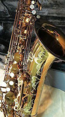 Chateau Tenor Saxophone Student Model VTS-500DE Dark Lacquer Finish