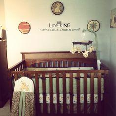 Lion King Nursery Decor Boy Letters Room Design