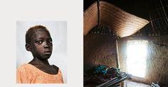 Onde as crianças dormem ao redor do mundo. Syra com 8 anos, mora em Iwol no Senegal.