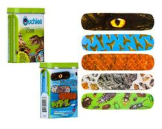 Ouchies Natural History Museum Adhesive Bandages - 4 Boyz by Ouchies. $5.99. Natural History comes to life on these from nature-inspired bandages designed just 4 BOYZ.This tin includes 20 adhesive bandages and 5 super cool facts.