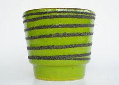 S Amazing West German planter retro vintage plant pot by Coollect, €14.99