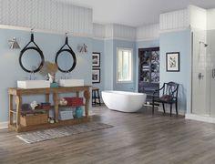Beautiful Blue Bathroom Paint Color