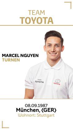 Team Toyota Deutschland: Marcel Nguyen.  Disziplin/Sportart: Turnen. #teamtoyota #teamtoyota_de #sport #olympics #paralympics #nichtsistunmöglich #roadtotokio Marcel, Team Toyota, Asian Games, Olympic Games, Gymnastics, Stuttgart, Germany