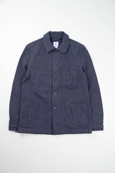 Navy Mayenne Jacket | Arpenteur