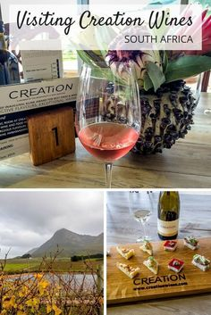 Creation Wines in South Africa offers world-class wines along with excellent food pairings. A visit here is a great way to spend a day in the Hemel-en-Aarde Valley outside of Hermanus.
