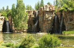 Waterfall Ampitheatre in Thanksgiving Point Gardens. #Lehi #Utah