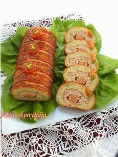 Special Recipes, Meat Recipes, Baked Potato, Sushi, Food And Drink, Appetizers, Yummy Food, Snacks, Dishes