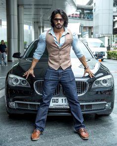 Thakur Anoop Singh #Tamil #Telugu #India #Sexy #ThakurAnoopSingh Formal Men Outfit, Men Formal, Car Poses, Men Dress Up, Black Suit Men, Photography Poses For Men, Portrait Photography, Man Dressing Style, Mens Fashion Wear