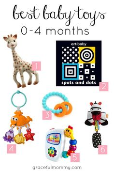 Best Baby Toys: 0-4 month guide | Gracefulmommy.com