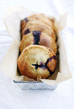 blueberry, basil, and goat cheese hand pies--- by Beth Kirby | {local milk}, via Flickr