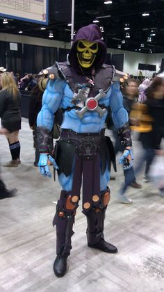 Skeletor (He-Man) cosplay