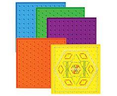 Set de Geoplan Montessori