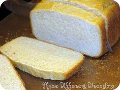 Instant Mashed Potato BreadRecipe - Blog - @threedifferent