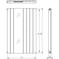 Ocelový profil 70 × 11 mm, ocelový profil 50 × 30 mm