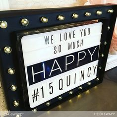 How @heidiswapp decorates for a party!