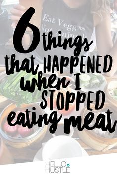 This past summer, I made it a priority. I decided to do a 30-day meatless challenge. Six months later, I'm still going strong, and I don't know that I will ever go back. Here are the unexpected things that have changed for me since I stopped eating meat.