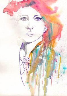 'skine Fashion Illustration