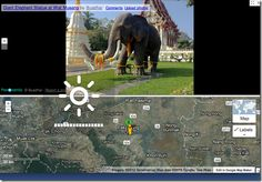 Using interactive Google Earth map with kids