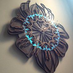 Sarah's Laser-cut wooden clocks - Imgur