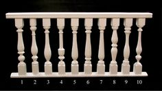 Century Porch Post Inc. Wood Handrail, Stair Spindles, Staircase Railing Design, Interior Staircase, Wooden Door Design, Wood Design, Temple Design For Home, Porch Posts, Stair Decor