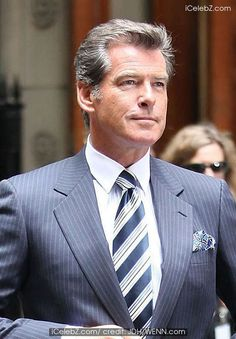 Pierce Brosnan, pierce, brosnan, robert, pattinson, diane, sawyer, set ...