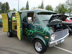 """1977 Dodge Van   1977 Dodge 200 Tradesman Van """"Custom"""""""