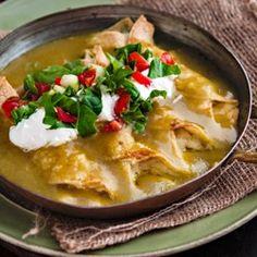 Potato Enchiladas with Green Chile