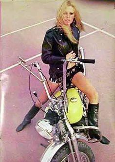 Harley Girls - Brigitte Bardot - Women Who Ride Harley Davidson Motorcycles