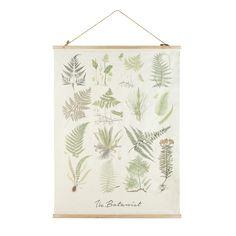 Foliage Print Kakemono 120 x 200 cm | Maisons du Monde
