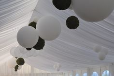 Marquee Roof Decorations - South of France - Provence - Wedding Destinations