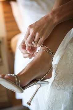 Now this is a wedding shoe! ~ 30 Mood Setting High Heels Because Life Is Too Short To Wear Flats - Style Estate - Bridal Shoes, Wedding Shoes, Wedding Girl, Wedding Bride, Summer Wedding, Wedding Dresses, Sexy Heels, Sexy Sandals, Beautiful Shoes