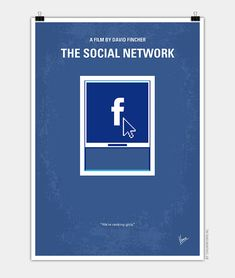 Chungkong, The social network, Minimal Movie Poster