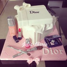 Dior Cake For A Training Day