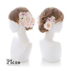 Gallery 566  . 【 結婚式 #髪飾り 】 . #Picco #オーダーメイド髪飾り #白無垢 #結婚式 . ほんのりと色づいたローズをメインに、パープル&ホワイトの小花で盛り付けました .  #ローズ #パステル #クラシカル #和装 #ウェディングヘア . デザイナー @mkmk1109 . . . #ヘッドパーツ #ヘッドアクセ #ヘッドドレス #花飾り #造花 #カラードレス #披露宴 #パーティー #プレ花嫁 #花嫁 #ウェディングフォト #結婚式前撮り #結婚式準備 #プリンセス #プレ花嫁 #ウェディング #ウェディングアイテム #ブライダルフォト #ウェディング小物  #antique #rose
