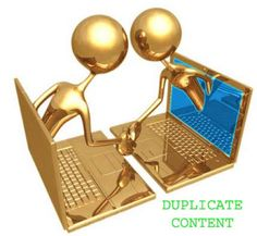 How to check duplicate content.
