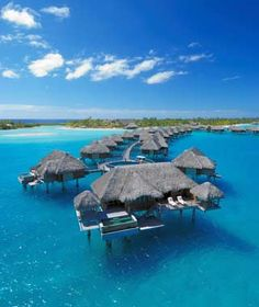 Otemanu Over-water Bungalow, Four Seasons Resort, Bora Bora.