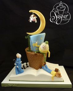 Nursery Rhyme cake by Sugar Creations
