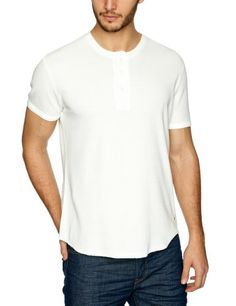 Levi's Waffle Henley - T-shirt - Uni - Manches courtes - Homme, Blanc (L9552 White Smoke), FR : Small Levi's http://www.amazon.fr/dp/B00A23A8SO/ref=cm_sw_r_pi_dp_xswfwb1WSCTSG