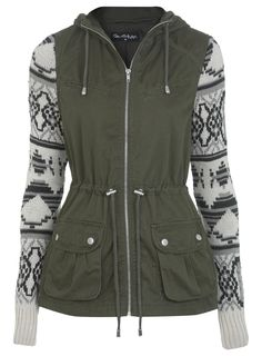 @Melissa Squires Squires Squires Henson Selfridge Knitted Sleeve Jacket $122