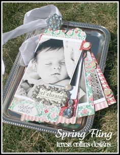 @Teresa Collins tag album using Spring Fling Collection