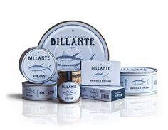Conservas Billante - The Dieline: The World's #1 Package Design Website -