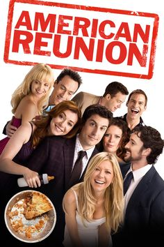 In the comedy American Reunion, all the American Pie characters we met a little more than a decade ago are returning to East Great Falls for their high-school reunion. In one long-overdue weekend, they will discover what has changed, who hasn't and that time and distance can't break the bonds of friendship. It was summer 1999 when four small-town Michigan boys began a quest to lose their virginity. In the years that have passed, Jim and Michelle married while Kevin and Vicky said goodbye…