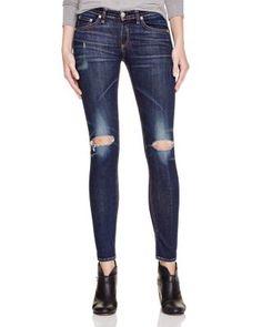 rag & bone/JEAN The Skinny Distressed Jeans | Bloomingdale's