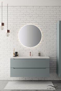 Modern White Bathroom, Modern Bathroom Decor, Bathroom Styling, Bathroom Furniture, Diy Bedroom Decor, Bathroom Renos, Scandinavian Bathroom Design Ideas, Bathroom Lighting, Simple Bathroom Designs