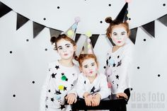 Professional Photography Boise Idaho - Family Lifestyle Baby Photographer  Mardi Gras / Carnival / Fasching - Clown Costumes - DIY Costumes - Clown Facepaint - Studio Session