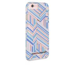 Rebecca Minkoff Tough Case - Naked Pastel Geo Stripe from Case-Mate.com