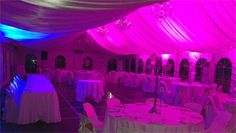 On Your Wedding at DJ MAGOO we let you select your room to be any colour you want!